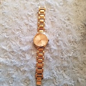 American Eagle Outfitters Rose Gold Quartz Watch
